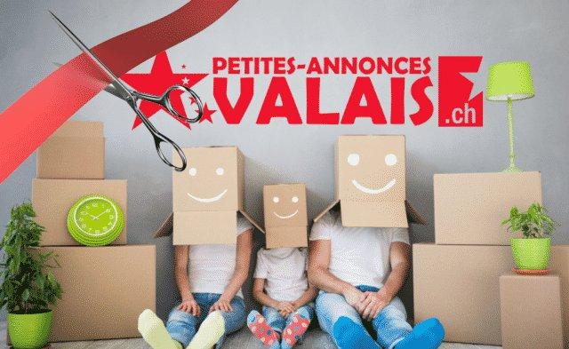 Ouverture du site Petites-Annonces-Valais.ch !